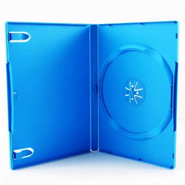 Third Party - Media Package Single DVD Case for Wii U - Baby Blue