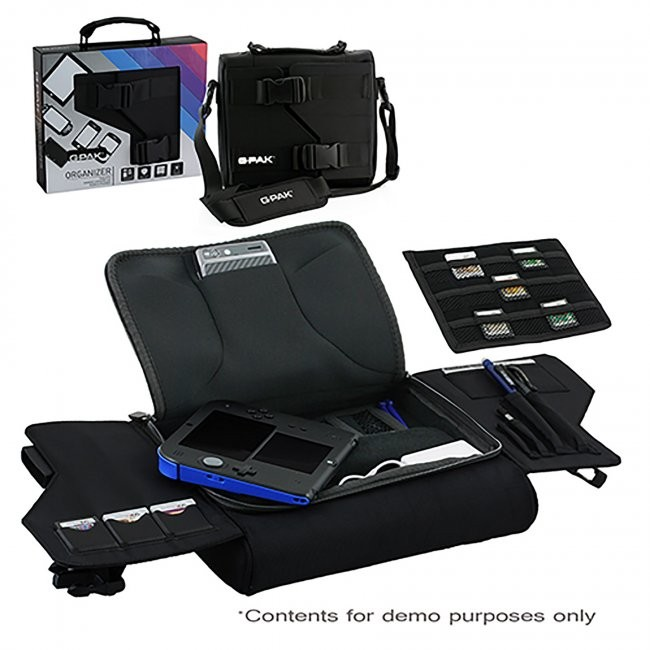 G-Pak - Universa Organizer Carry Case - Black