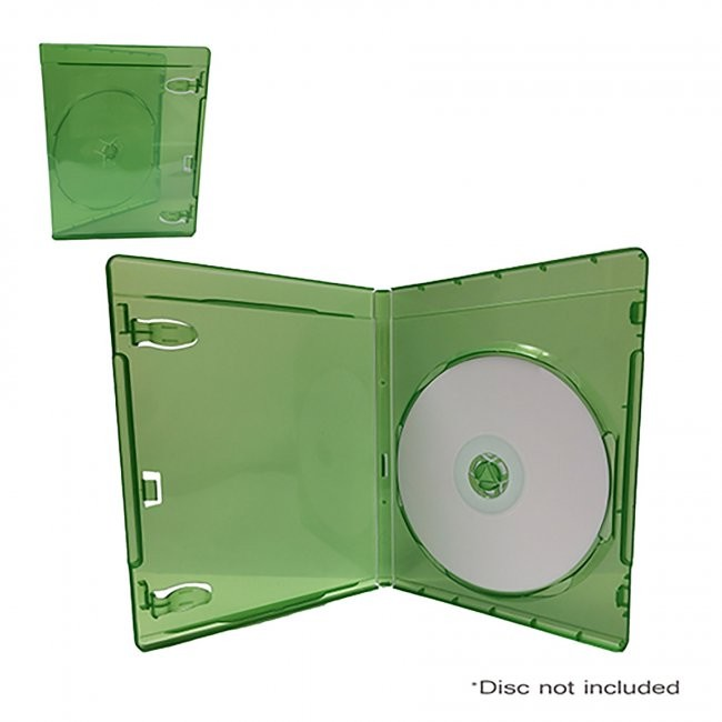 Generic Media Package Single Xbox One Case Media Package for Xbox One - Transparent Green