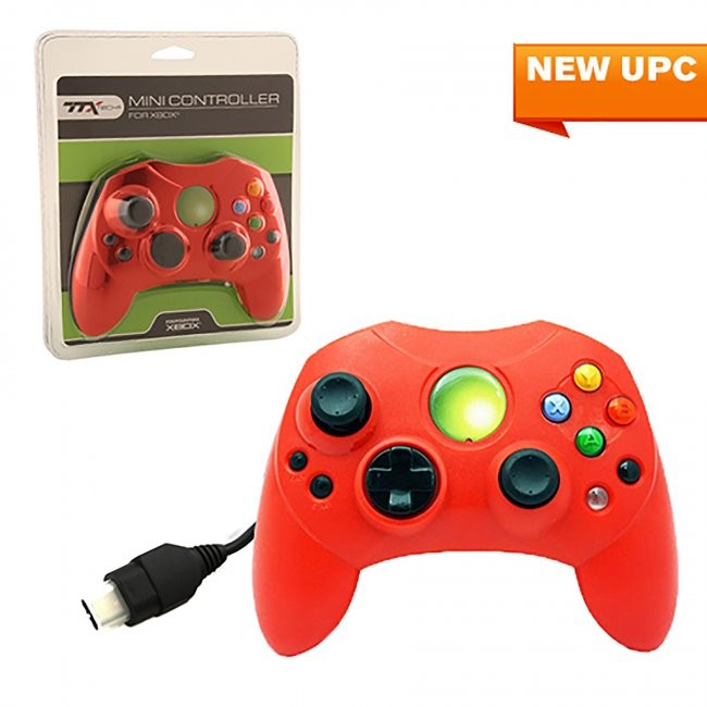 TTX Tech - Wired Controller S for Xbox - Solid Red