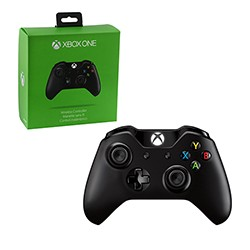 Microsoft - Wireless Controller for Xbox One - Black