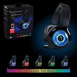 PDP - Universal Wireless AG Prismatic Headset Afterglow
