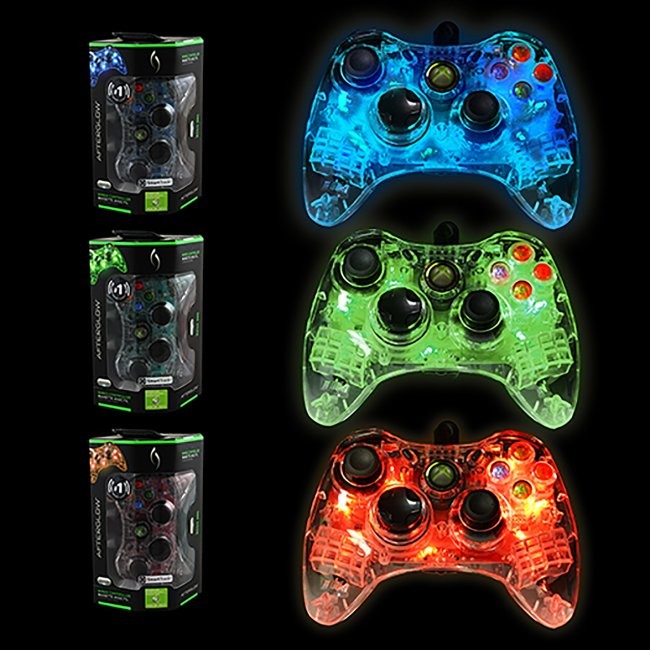 PDP - Microsoft Afterglow  Wired Controller for Xbox 360 - Assorted