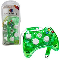 PDP - Rock Candy Controller for Xbox 360 - green