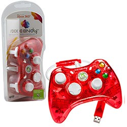 PDP - Rock Candy Controller for Xbox 360 - Red