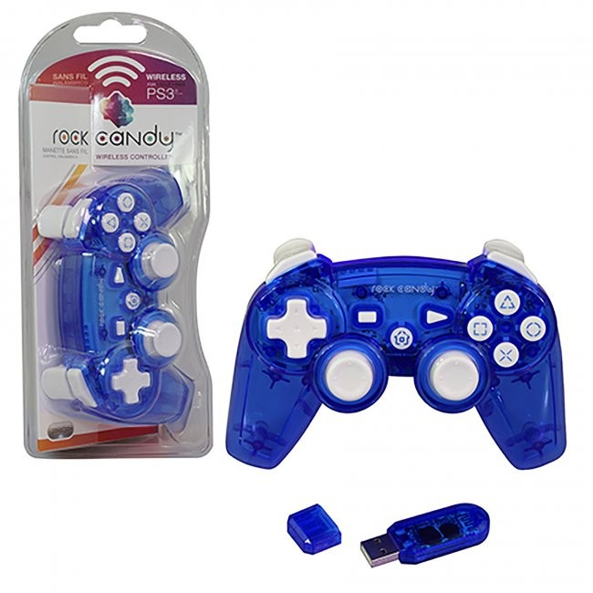 PDP - Rock Candy Wireless Controller for PS3 - Blue