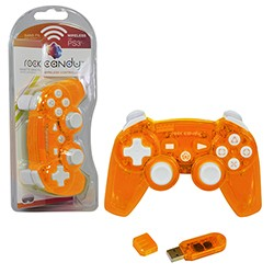 PDP - Rock Candy Wireless Controlle for PS3 - Orange