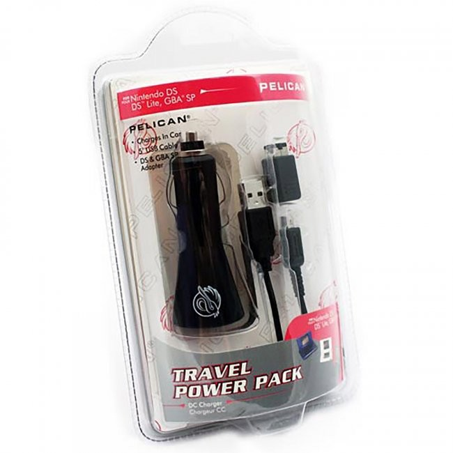 PDP - Travel Car Power Pack Adapter for DS Lite/GBA SP