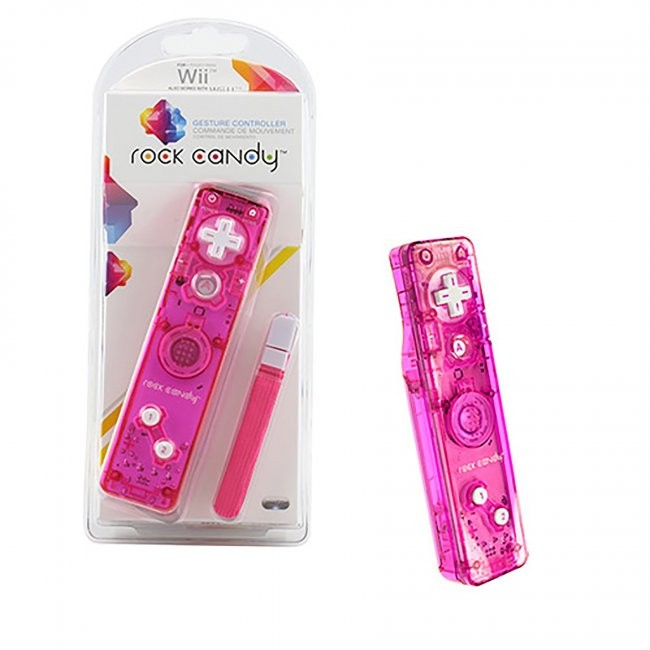 PDP - Rock Candy Controller for Wii - Pink