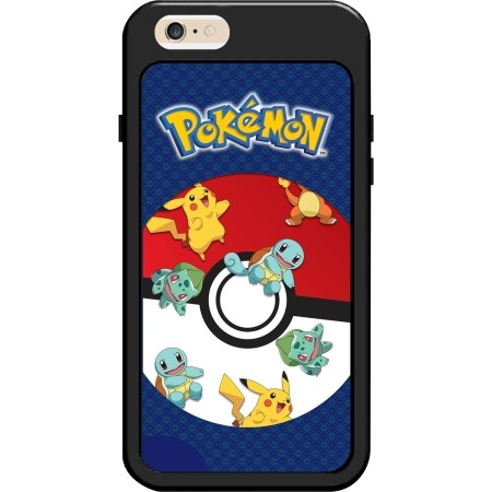 KidDesigns Pokemon Waterfall Case for iPhone 6/7 Black/Blue