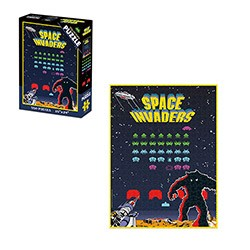 Puzzle - Space Invaders Puzzle