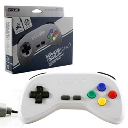 Retro-Bit - Super Retro RDP Wired Controller for SNES - Grey