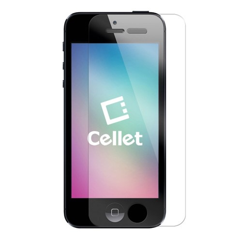 CELLET PREMIUM TEMPERED GLASS SCREEN PROTECTOR FOR APPLE IPHONE 5 / IPHONE 5S / IPHONE SE / 5C