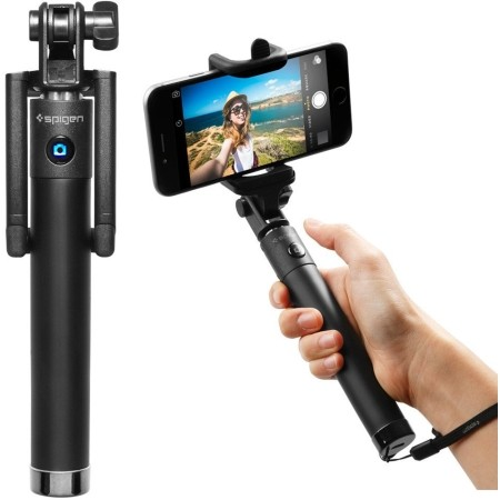 Spigen  Inc. Bluetooth Selfie Stick in Black