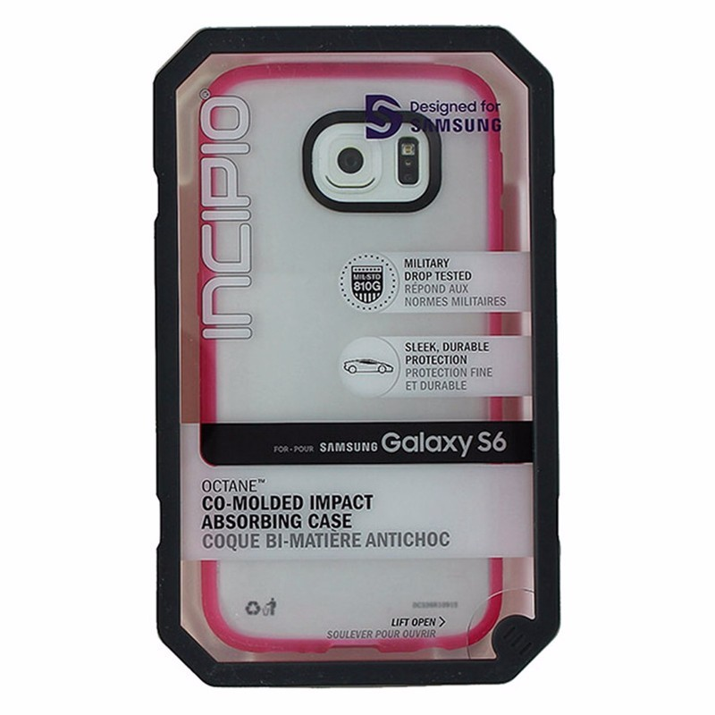 Incipio Octane Series Hybrid Case for Samsung Galaxy S6 - Frost / Pink