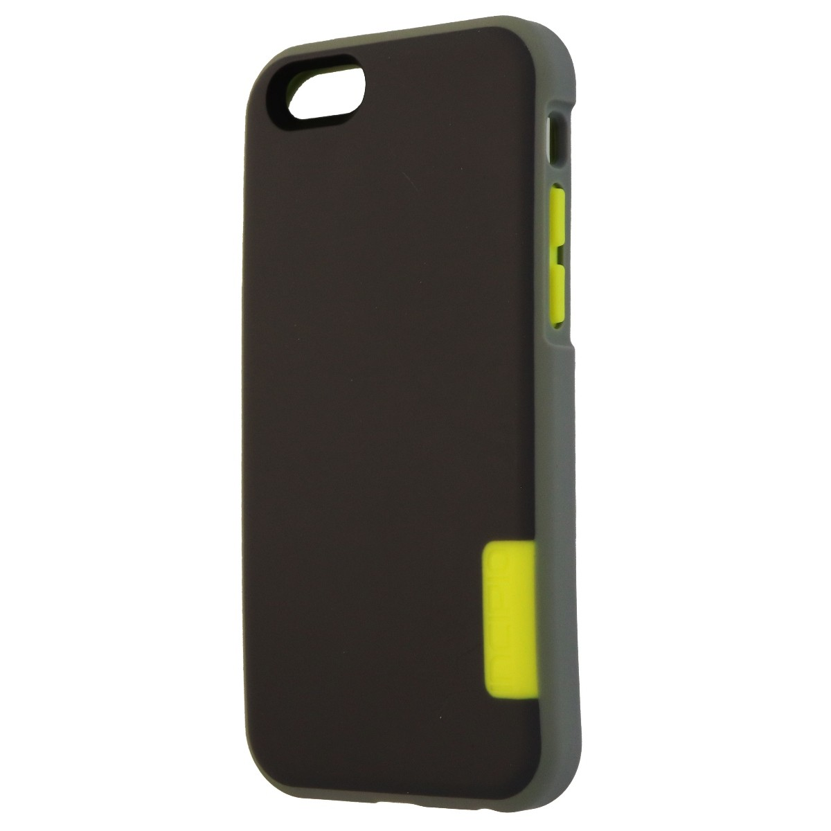 Incipio Phenom Series Protective Case Cover for iPhone 6s 6 - Gray/Electric Lime