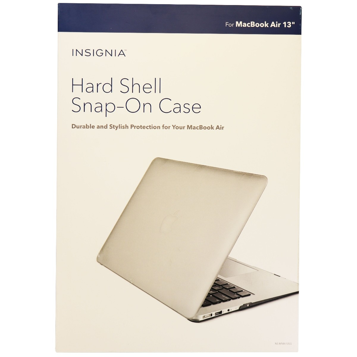 Insignia Hard Shell Case for Apple MacBook Air 13 Inch - Gray