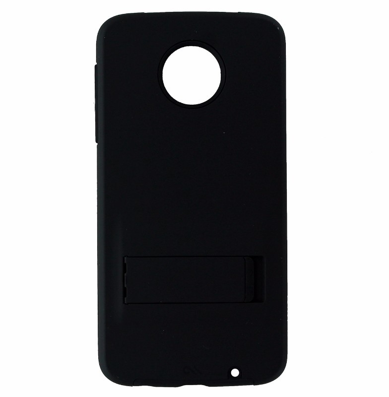 Case-Mate Tough Stand Case Cover for Motorola Moto Z Play Droid - Matte Black