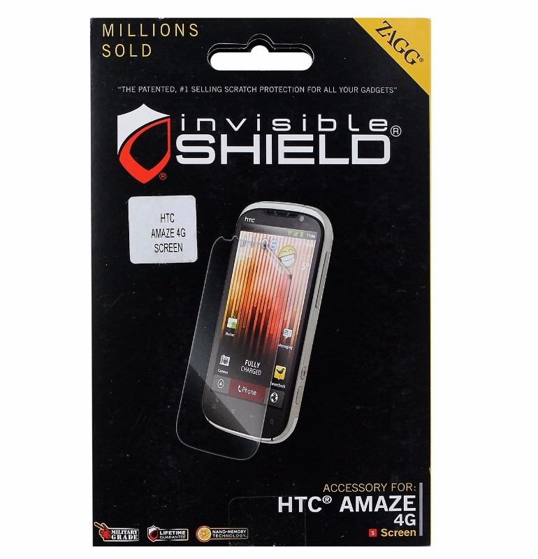 Zagg invisibleSHIELD Screen Protector for HTC Amaze 4G