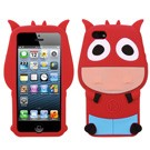 MYBAT Red Cow Pastel Skin Cover(IPHONE5CASKPT527)