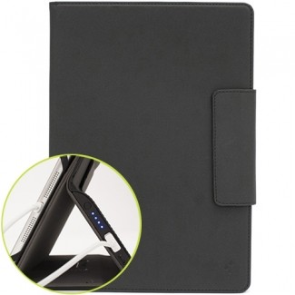 UNIVERSAL M-EDGE STEALTH POWER (6000MAH) FOLIO 9IN TO 10IN TABLETS - BLACK