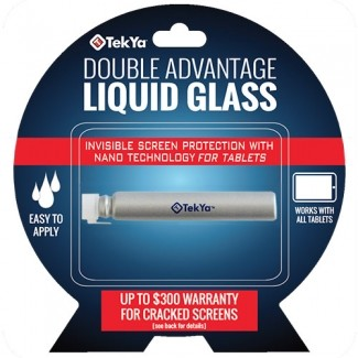 TEKYA DOUBLE ADVANTAGE SCREEN PROTECTOR - LIQUID GLASS FOR TABLETS ($300 COVERAGE)