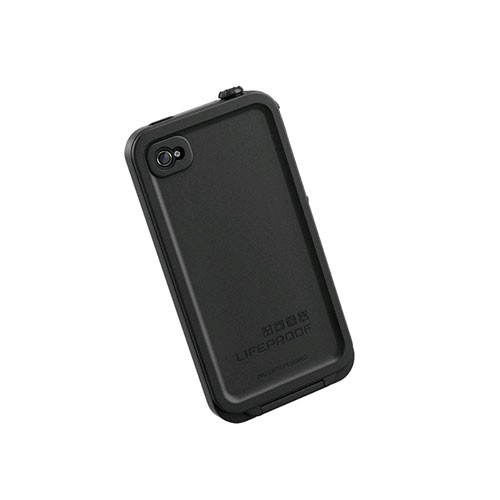 factory authentic 5f65a dd804 LifeProof Fre Waterproof Case for Apple iPhone 4/4s - Black