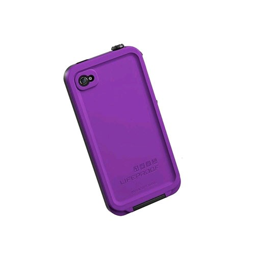 LifeProof Fre Waterproof Case for Apple iPhone 4S - Purple