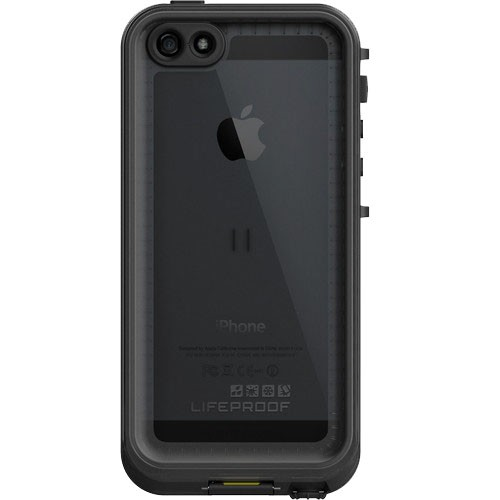 LifeProof Nuud Waterproof Case for Apple iPhone 5 5S (Smoke Black) 82325dbbaa4b