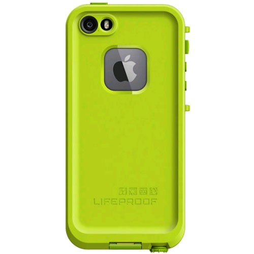 best authentic 24e96 87568 LifeProof Fre WaterProof Case for iPhone 5/5s - Lime Green