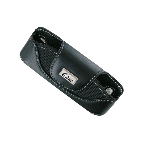 Horizontal Pouch with Belt Clip/Swivel for Motorola KRZR & Nokia 6301/5310/W350 - Black