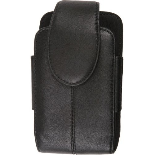 Wireless Solutions Premium Leather Pouch for Motorola Q9c,Q9h,Q9m,Q9eNapoleon - Black