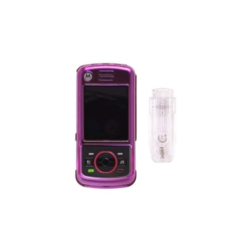 Snap-On Case for Motorola_iDEN Nextel Debut i856 - Pink