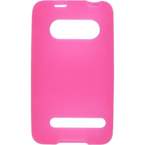 Wireless Solutions Silicone Gel Case for HTC EVO 4G 9292 - Dark Pink