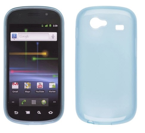 WIRELESS SOLUTIONS Dura-Gel Case for Samsung Nexus S 4G SPH-D720, GT-i9020T - Blue