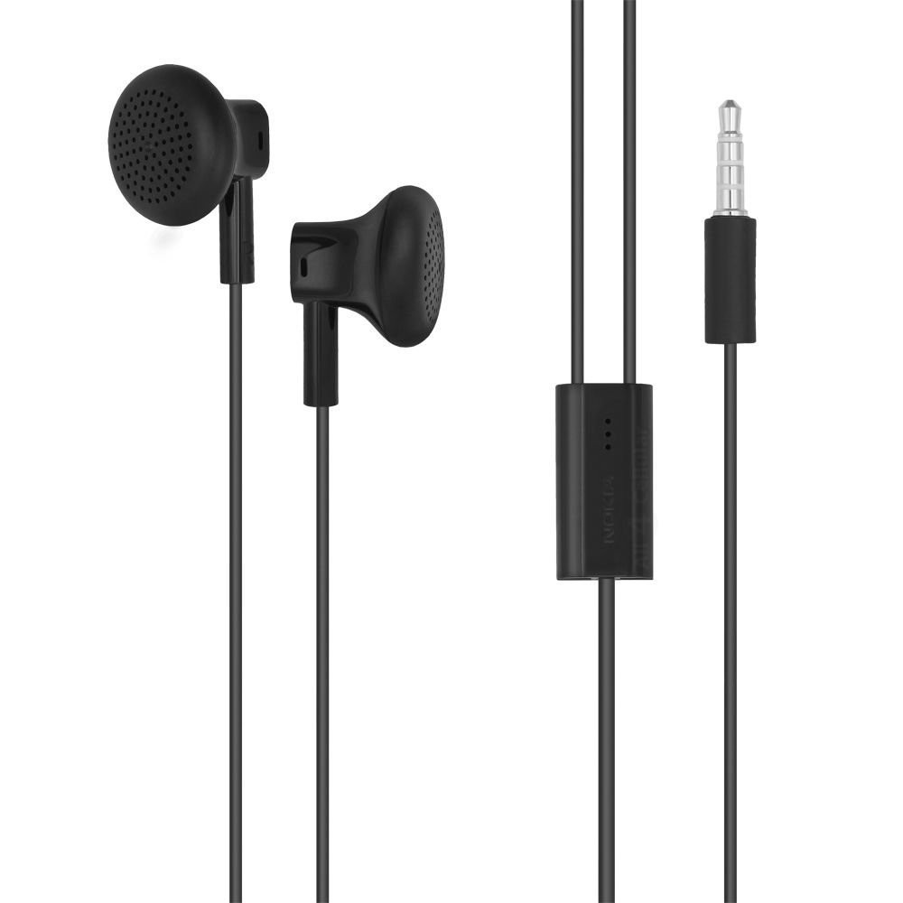 Nokia WH-108 Wired Headset - Black