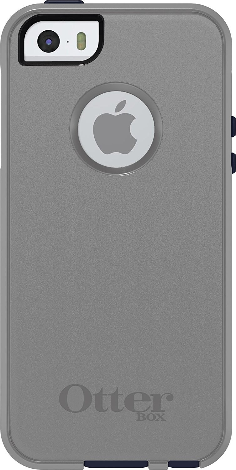 bf64f6634 OtterBox Commuter Case for Apple iPhone 5/5S/SE - MARINE (GUNMETAL  GREY/ADMIRAL BLUE)