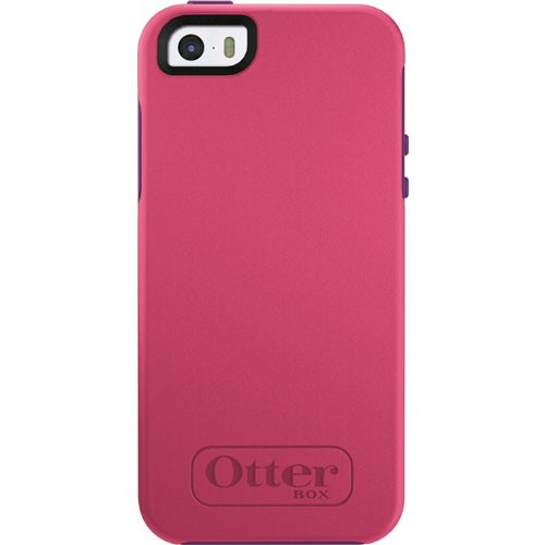 check out 01ca8 ad054 Otterbox Symmetry Case for Apple iPhone 5/5S/SE - Crushed Damson Pink/Purple