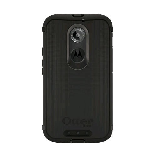 sports shoes 47d8b 37f86 OtterBox Defender Case for Motorola Moto X (2nd Gen.) - Black