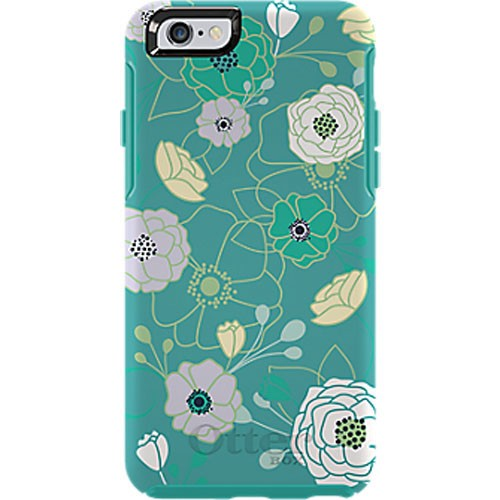 free shipping ccfdd 0b1bf OtterBox Symmetry Case for Apple iPhone 6/6S - Eden Teal (Teal/W Eden Teal)