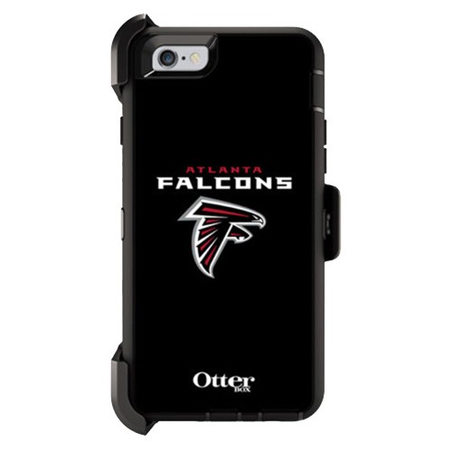 buy online add4d 556c1 OtterBox Defender Case for Apple iPhone 6/6S (NFL Atlanta Falcons)