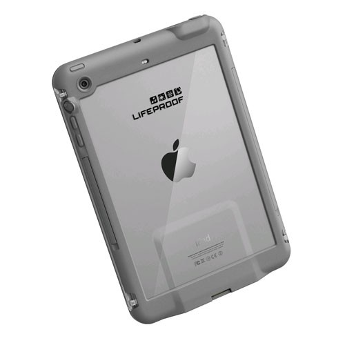 reputable site 01ee5 d3ba4 LifeProof Fre Waterproof Case for Apple iPad Mini, Mini 2, Mini 3 -  Avalanche White/Gray