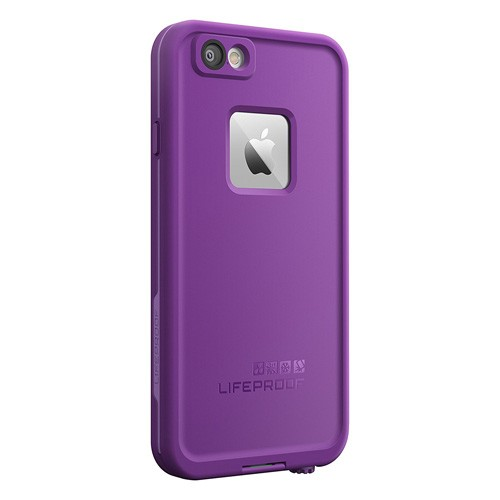 Lifeproof Fre Waterproof Case for Apple iPhone 6/6s - Pumped Purple (Light Lilac/Dark Lilac)