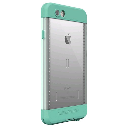 the latest f06bf 16a0b Lifeproof Nuud Waterproof Case for Apple iPhone 6s Plus - Undertow Aqua  Sail Blue/Clear/Tail Side Teal