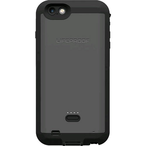 LifeProof Fre Waterproof Battery Case for Apple iPhone 6 Plus / 6s Plus - Black