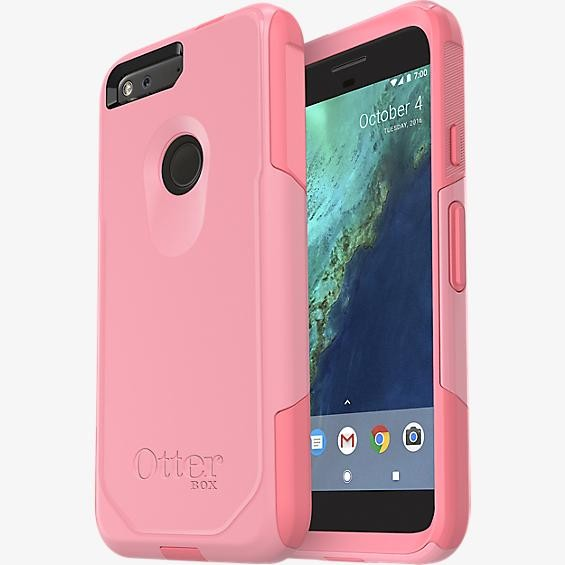 new arrival 4bc73 44536 OtterBox Commuter Case for Google Pixel - Rosmarine Way  (ROSEMARINE/Pipeline Pink)