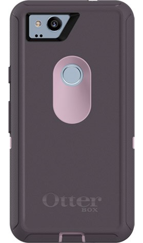 OtterBox Defender Case for Google Pixel 2 - Purple Nebula (WINSOME ORCHID/NIGHT PURPLE)