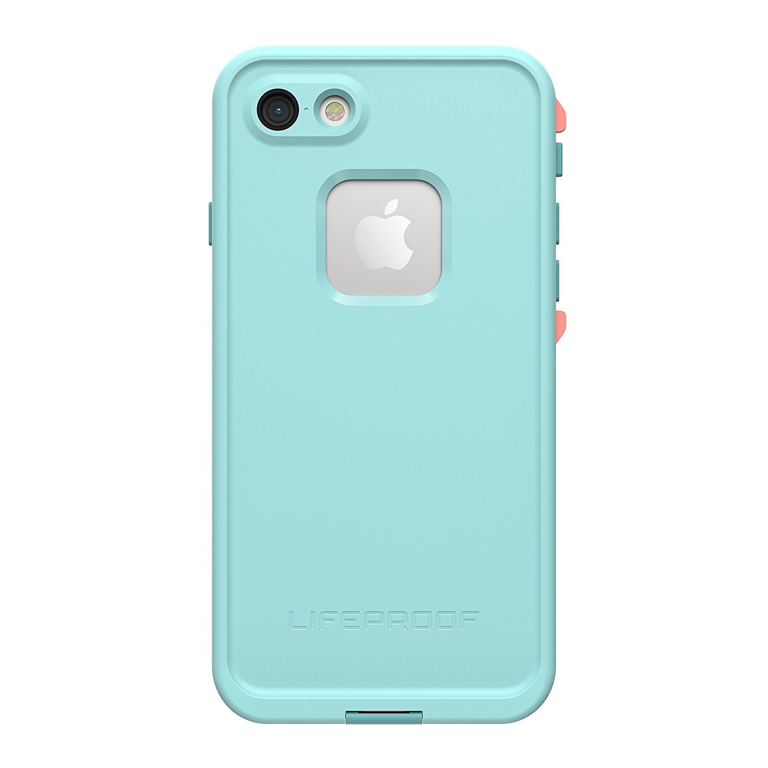 competitive price fff20 8c487 LifeProof fre Waterproof Case for Apple iPhone 8/7 - Wipeout (Blue  Tint/Fusion Coral/Mandalay Bay)
