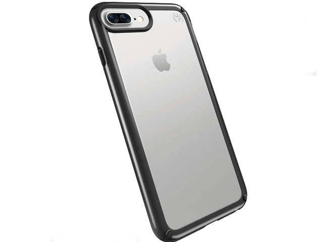 7f16d71d0ed Speck Presidio SHOW Case for iPhone 7 Plus 6s Plus 6 Plus - Clear Black