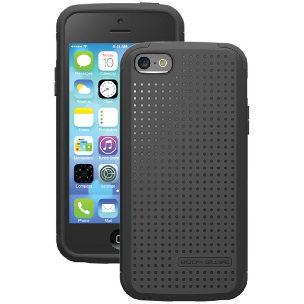Body Glove - Intermix Case for Apple iPhone 5/5S - Black